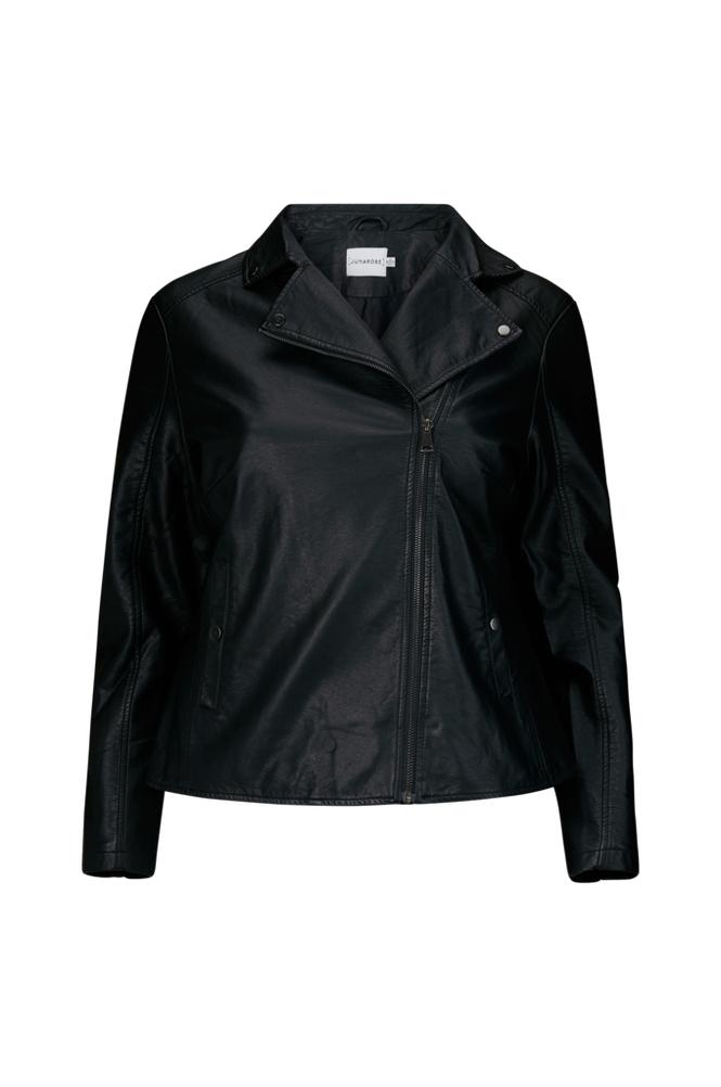 Junarose JrKarisa LS Short PU Jacket takki