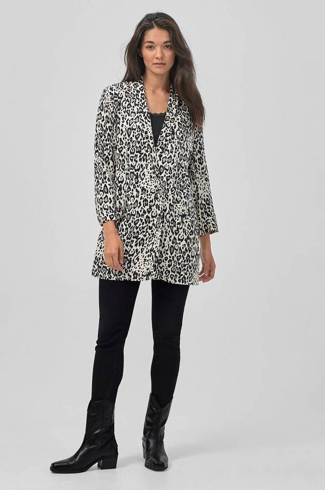Saint Tropez Animal Oversize Blazer jakku