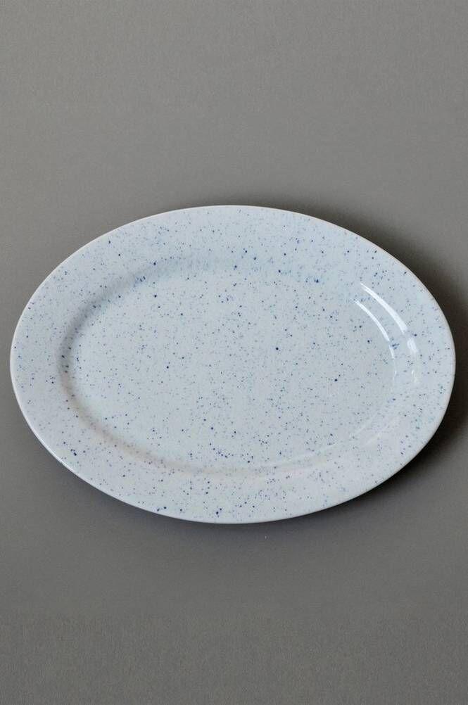 Mimou PURE Stain, soikea lautanen 32 cm