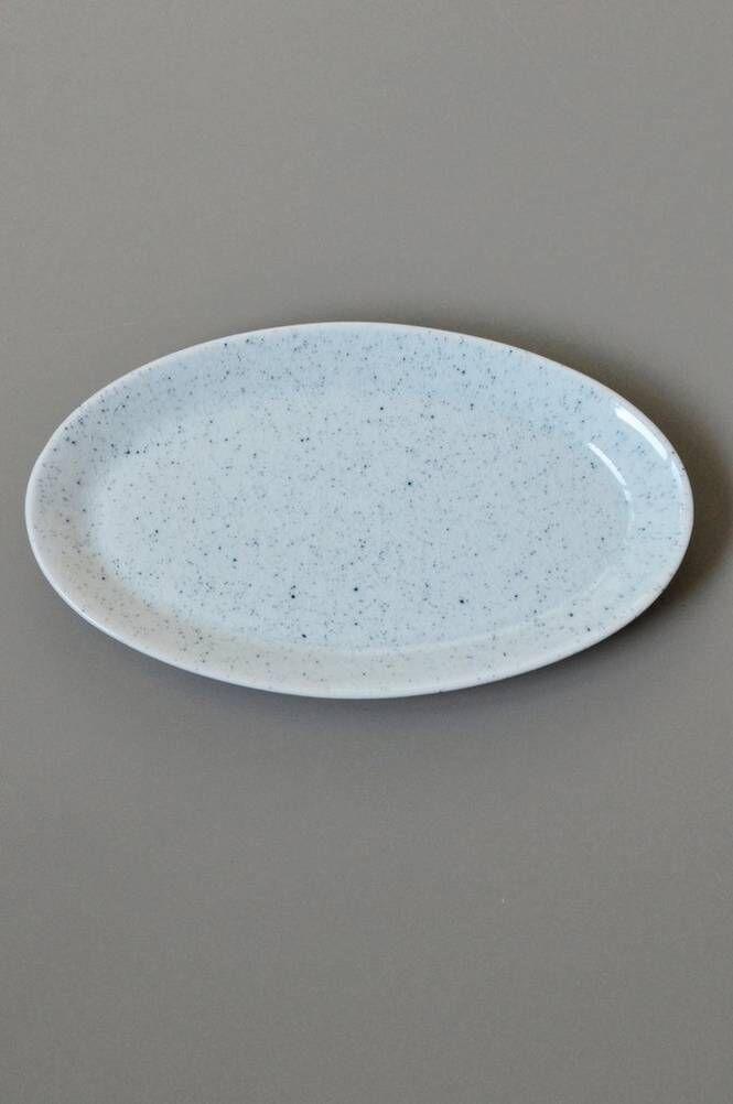 Mimou PURE Stain 25 cm, soikea lautanen