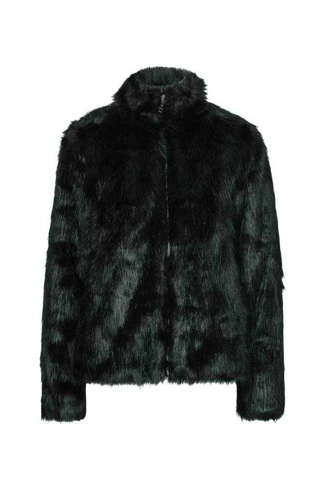 Saint Tropez Long Hair Faux Fur Jacket tekoturkistakki