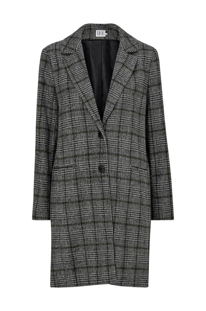 Saint Tropez Check Coat takki