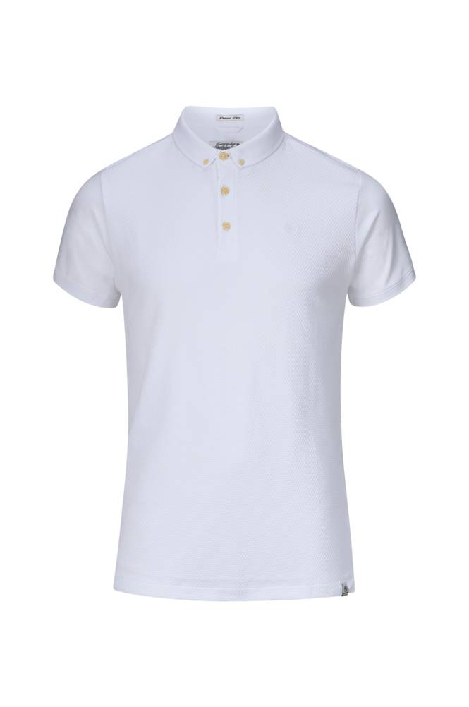 Dstrezzed Polo BD s/s Honeycomb Stretch Jersey -T-paita