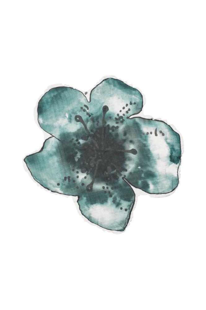 Elodie Details Muslin Bambu Embedding Bloom -torkkupeitto, sininen