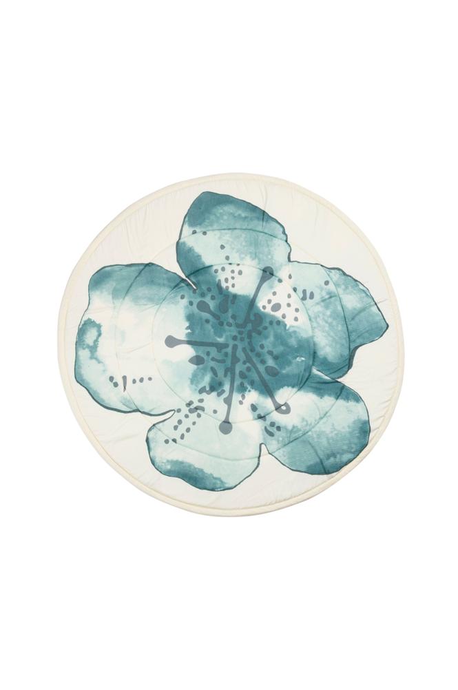 Elodie Details Embedding Bloom -leikkimatto, sininen