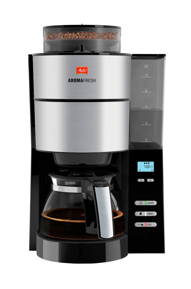 Melitta Aroma Fresh -kahvinkeitin, teräksenvärinen