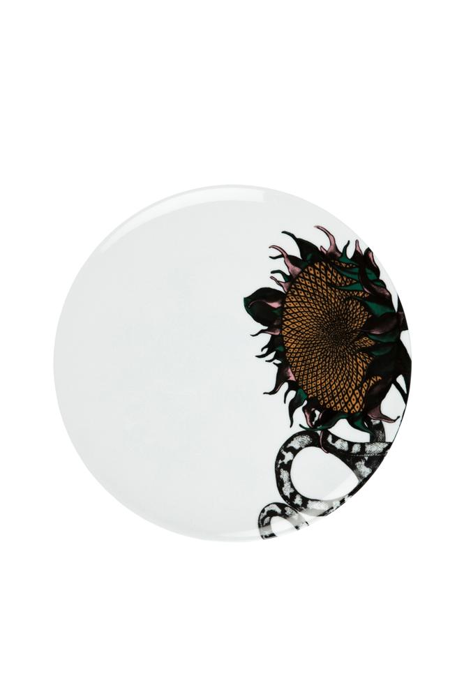 Studio Lisa Bengtsson Sunflower-lautanen, 28 cm