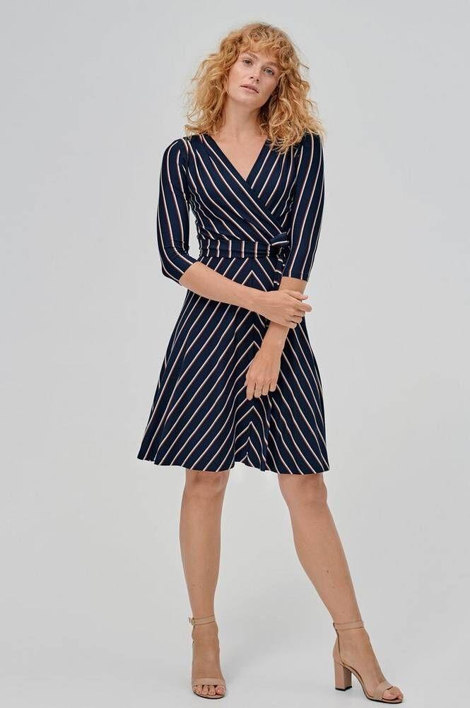 Jumperfabriken Celia Stripe Dress -mekko