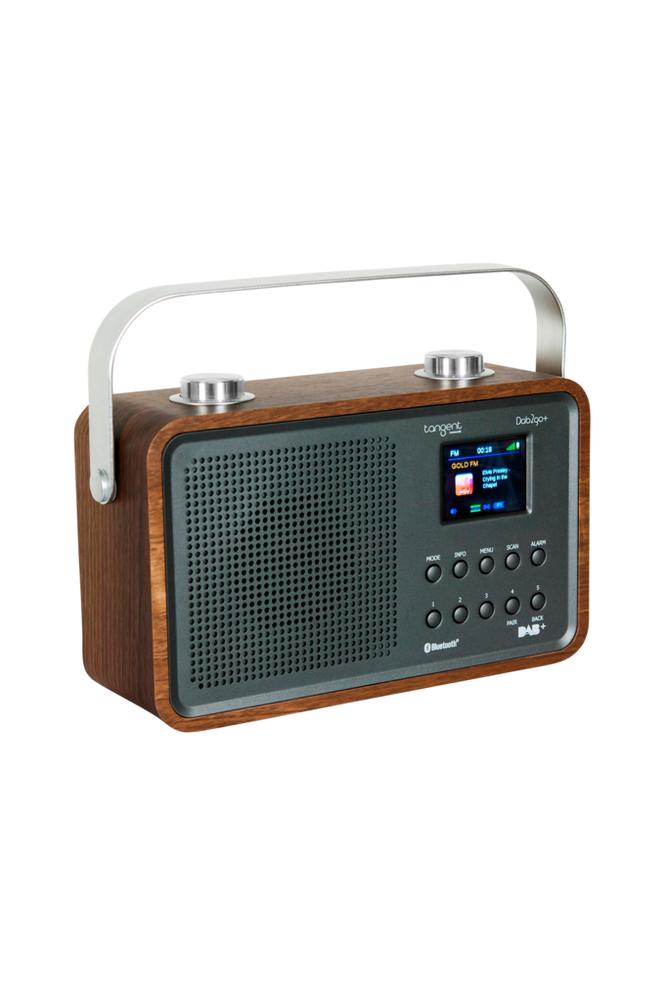 Tangent DAB2go+ Radio Walnut