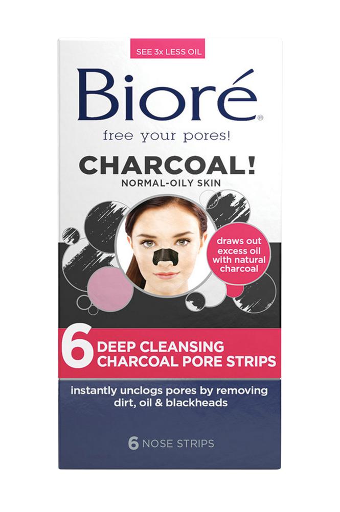 Bioré Deep Cleansing Charcoal Pore Strips (6 nose)