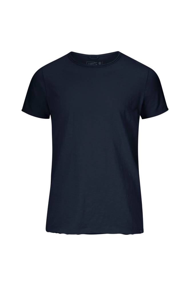 Dstrezzed Basic Round Neck Tee Slub Jersey -T-paita