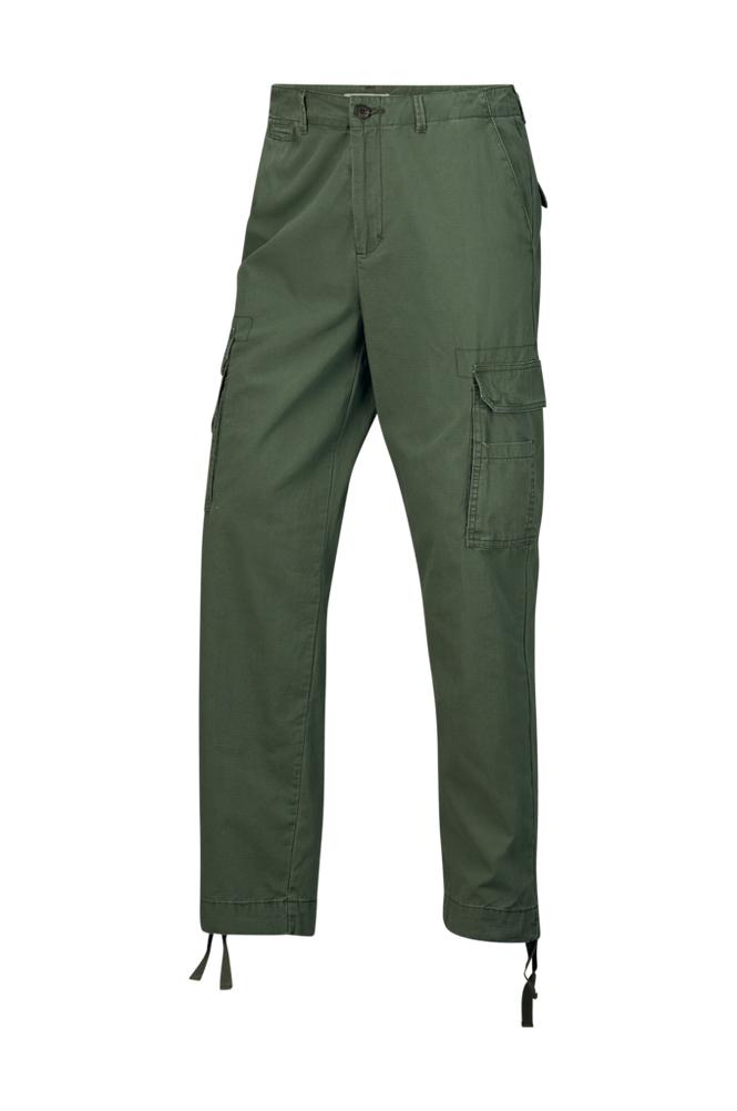 Studio Total Calvin Cargo Trouser Olive -cargohousut