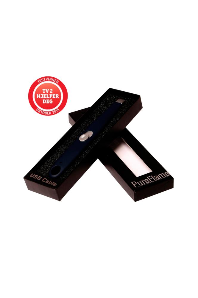 Pureflame USB sähkösytytin, musta