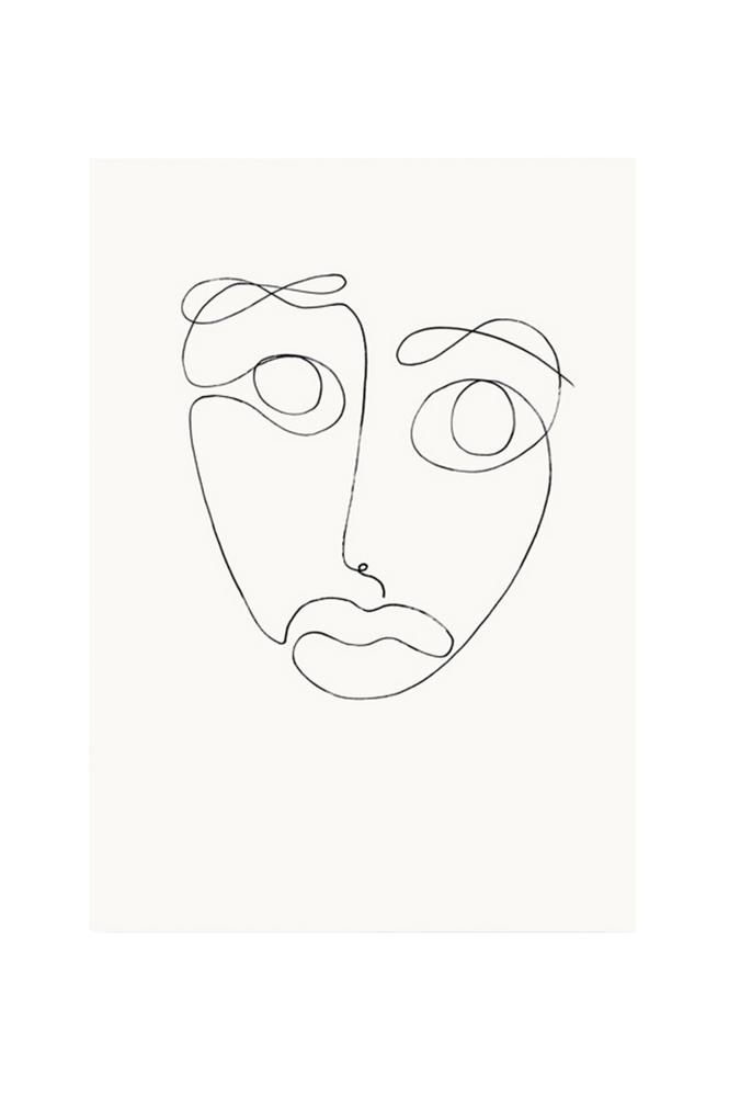 Kortkartellet The Mask -juliste 50 x 70