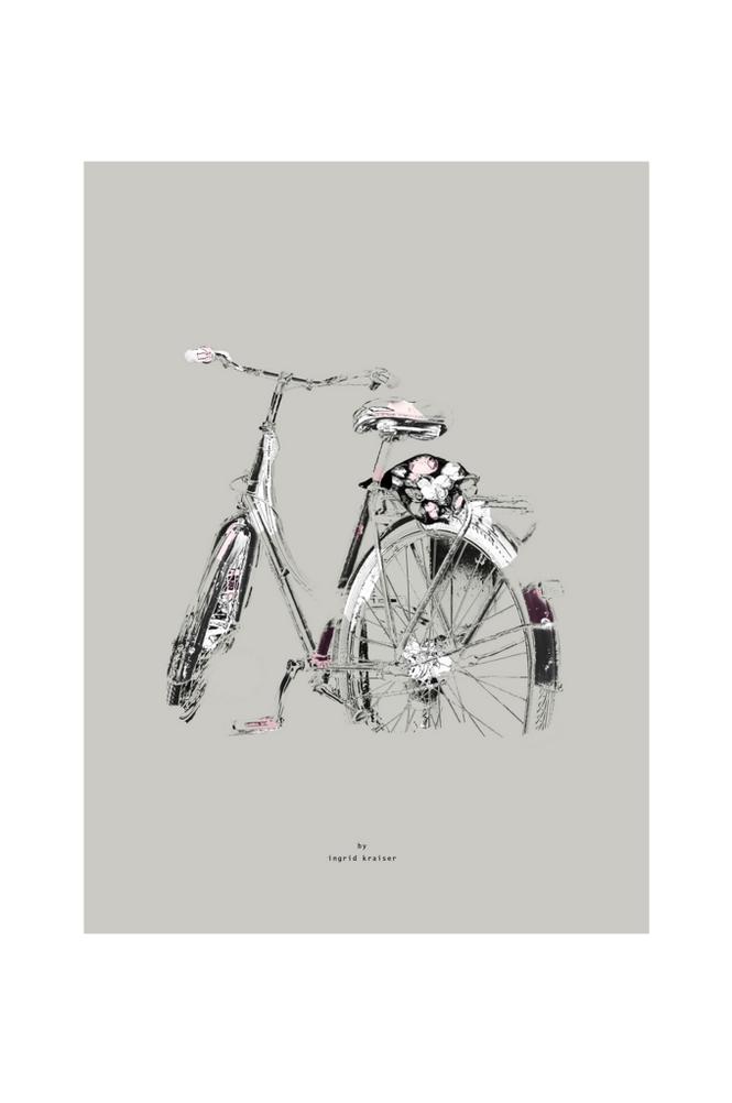 Ingrid Kraiser Blombud-juliste 30 x 40 cm