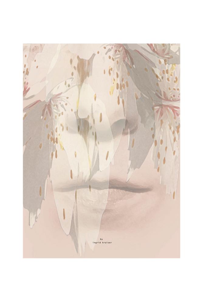 Ingrid Kraiser Nice Rain -juliste 70 x 100 cm