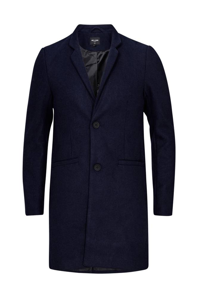 ONLY & SONS OnsMax Wool Trench Coat EXP -takki