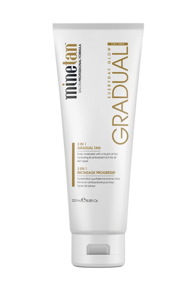 minetan Gradual, 3 in 1 Gradual Tan Daily Moisturiser 237 ml