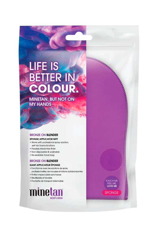 minetan Bronze on Application Mitt, single pack