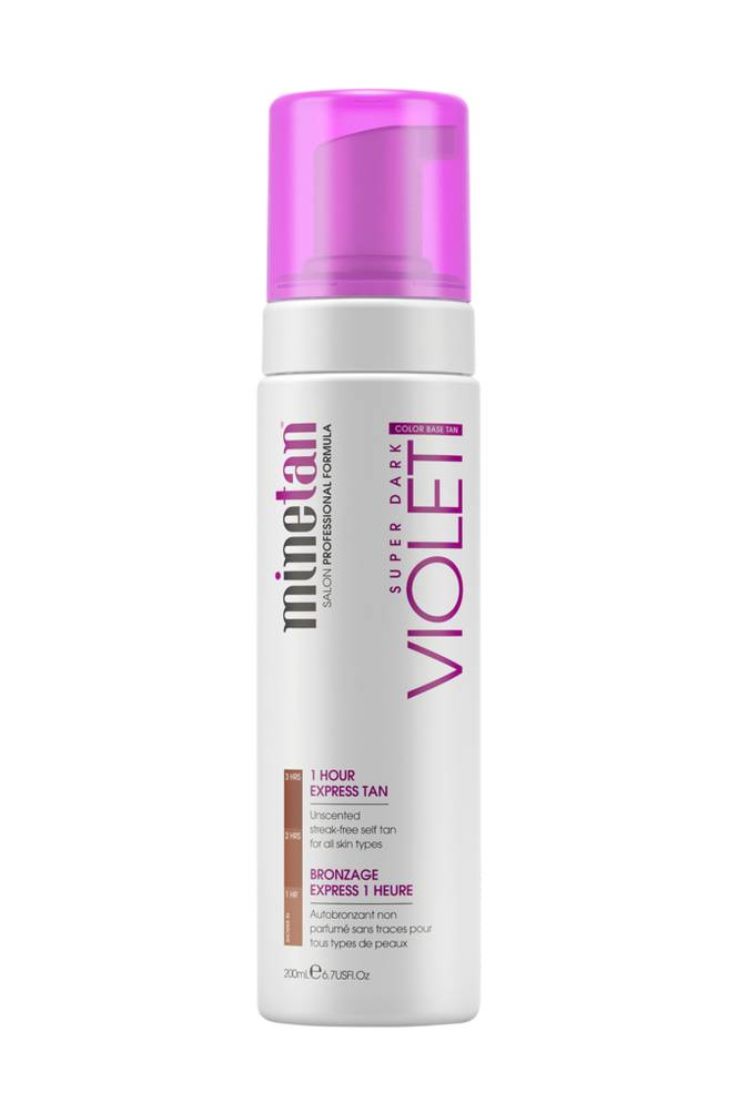 minetan Violet, Exotic European Onyx Foam 200 ml