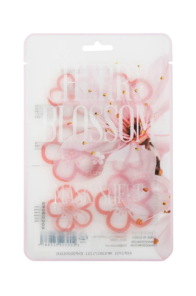 Kocostar Cherry Blossom Flower Mask Sheet