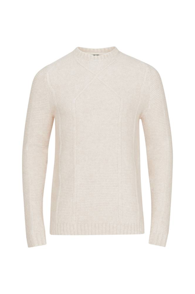 ONLY & SONS OnsPhilip 3 Cable Crew Neck Knit -neulepusero