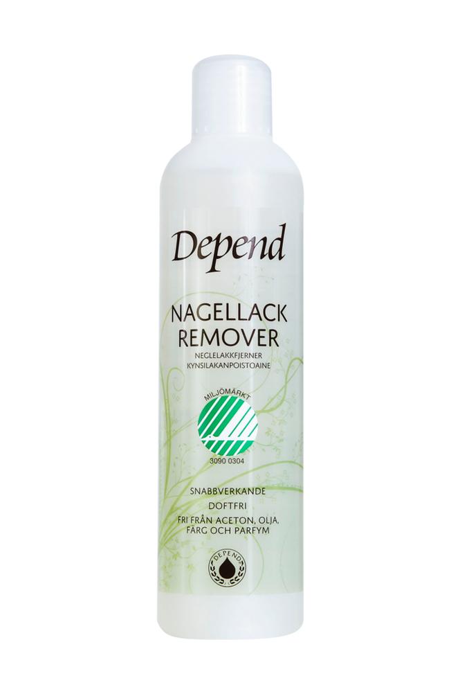 Depend Kynsilakanpoistoaine, ympäristömerkitty 250 ml