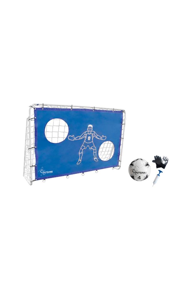 Outgame Jalkapallomaali 183x122 cm -paketti