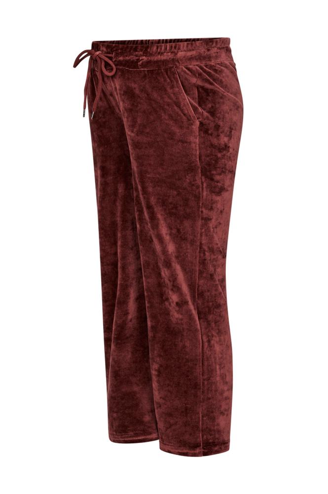 Supermom Velvet Cropped Pants -äitiyshousut