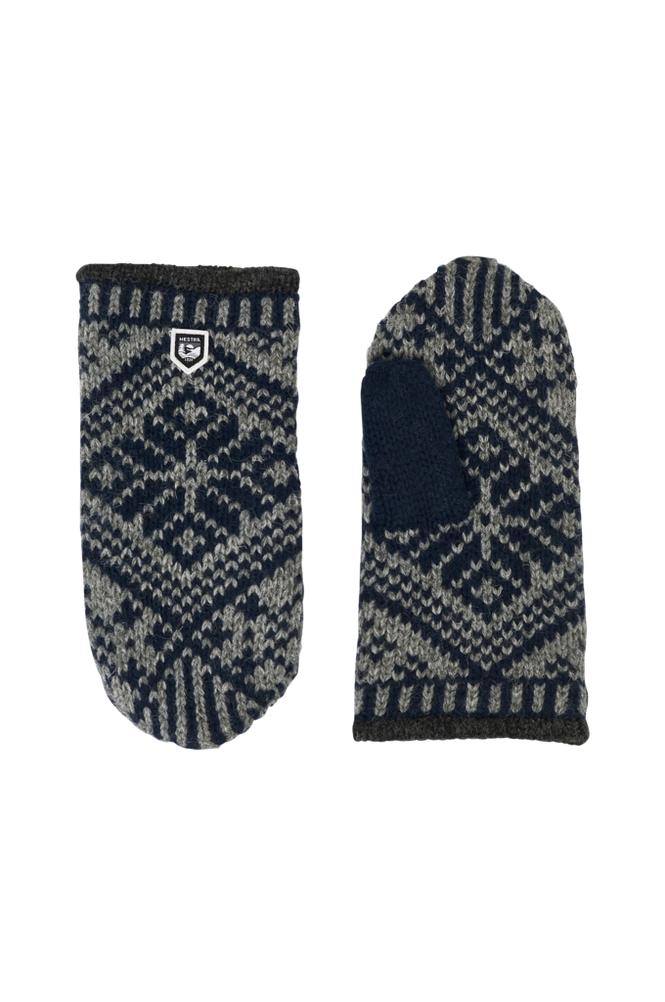 Hestra Nordic Wool Mitt -lapaset