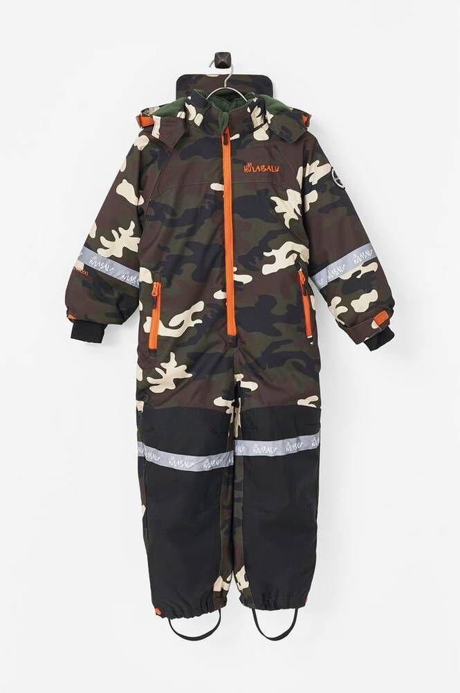Hulabalu Camo Snowsuit -talvihaalari