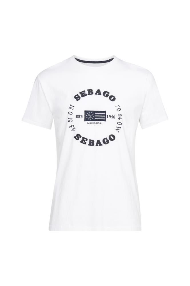 Sebago Edward Logo Tee -T-paita