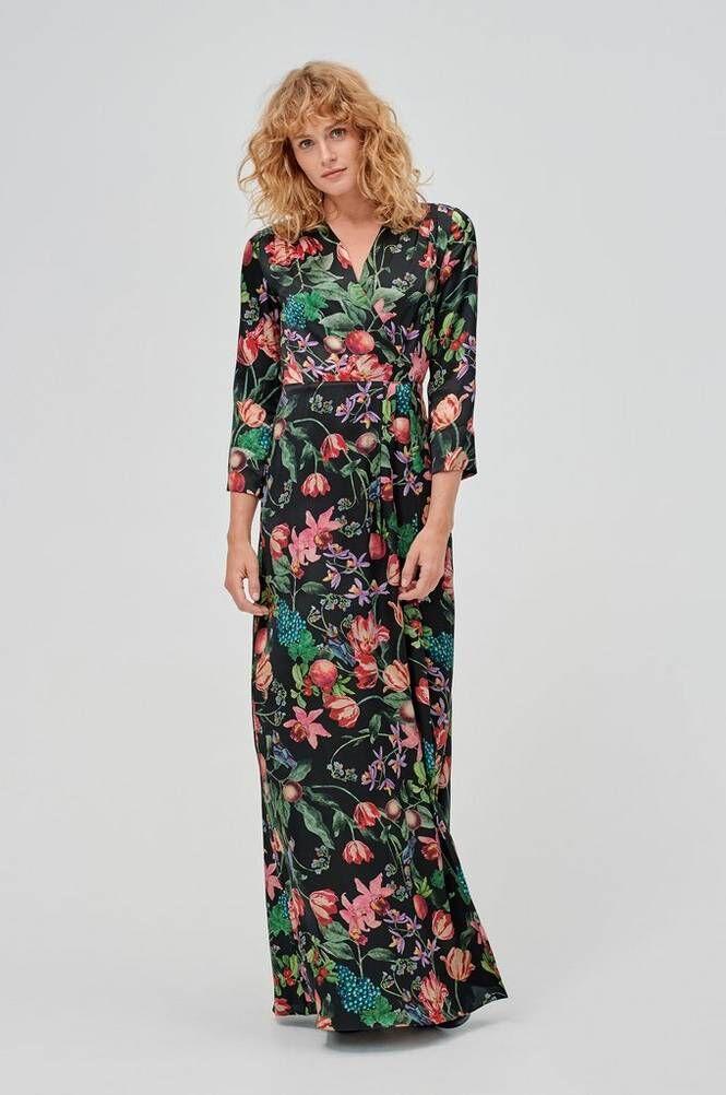 By Malina Columbine Dress -maksimekko