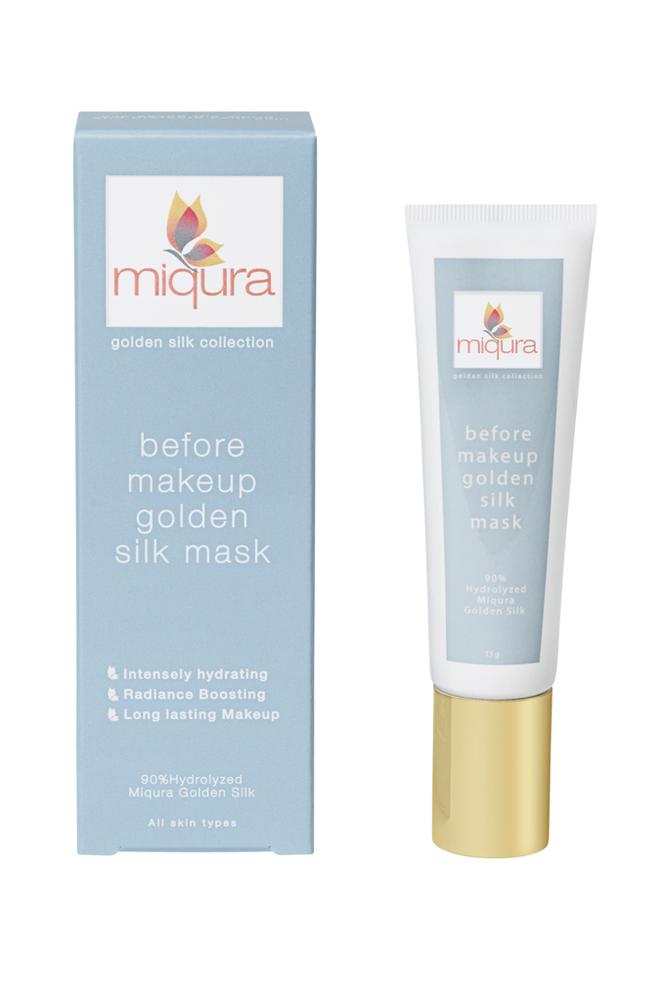 miqura Gold Silk Before Makeup Mask