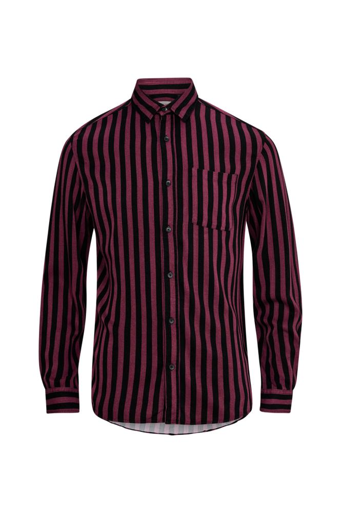 jack & jones JorLance Shirt LS Org slim fit -kauluspaita