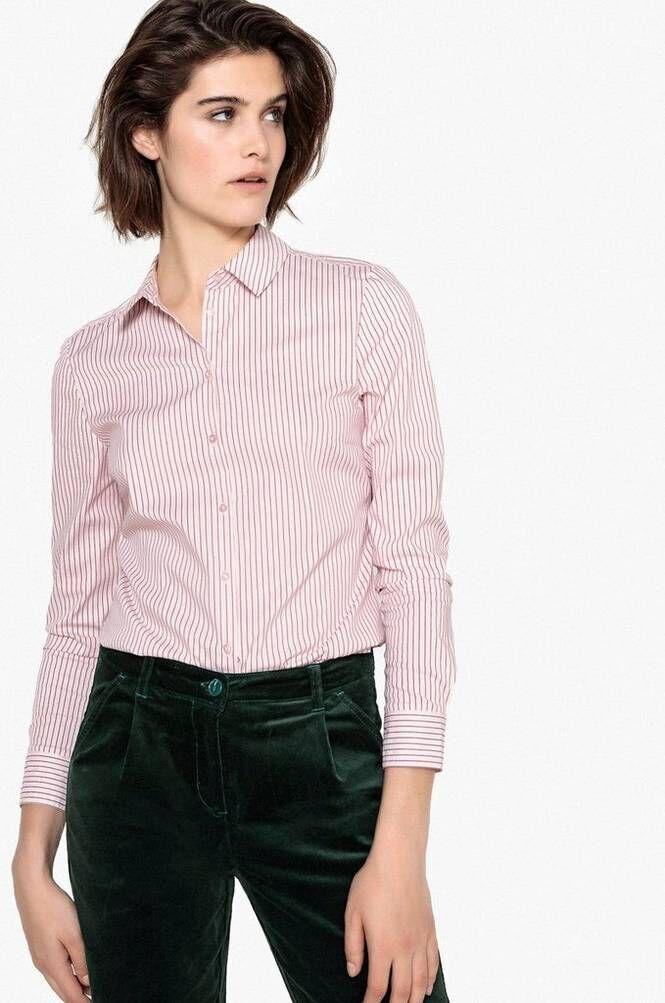 La Redoute Raidallinen paita, jossa vartalonmyötäinen istuvuus