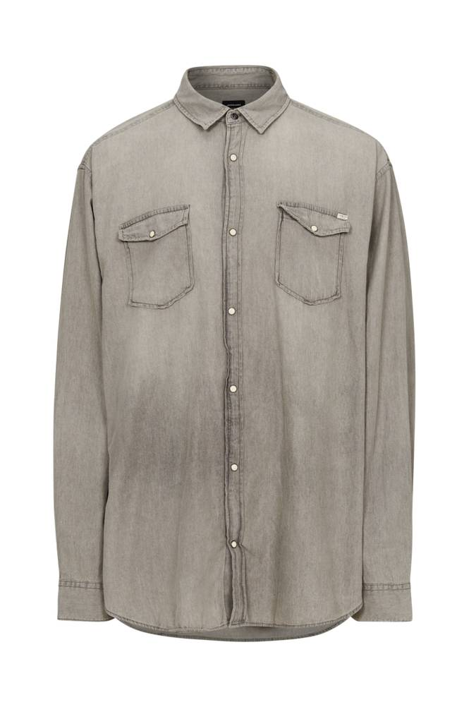 jack & jones JjeSheridan Shirt L/S PS -farkkupaita