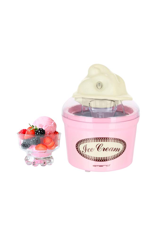 Emerio Retro-jäätelökone 1,2 l, roosa