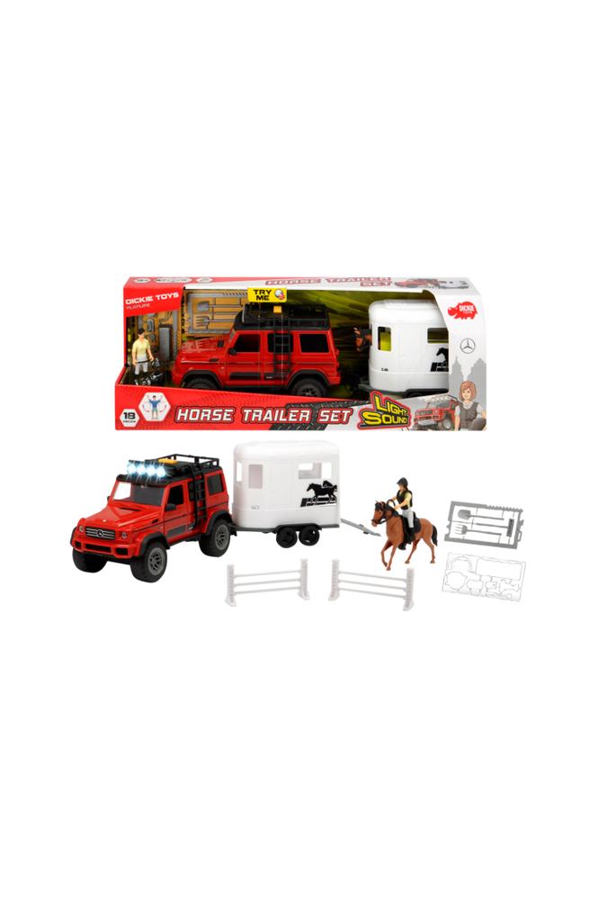 Dickie Toys Horse Trailer Set