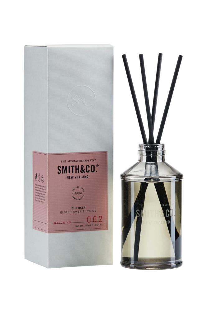 Smith & Co. Elderflower & Lychee Diffuser 250 ml