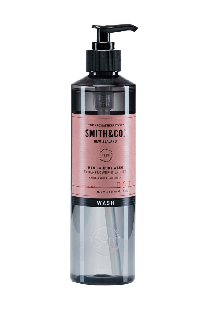 Smith & Co. Elderflower & Lychee Hand & Body Wash 400 ml