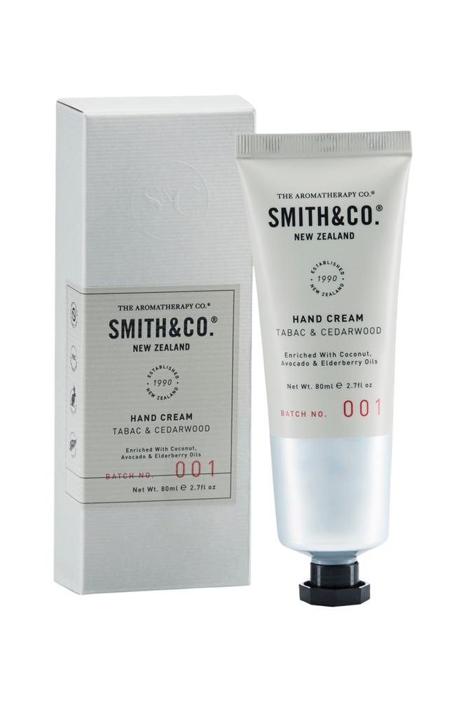 Smith & Co. Tabac & Cedarwood Hand Cream 80 ml