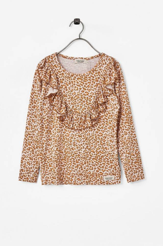 MarMar Copenhagen Pusero Taren Gold Leopard