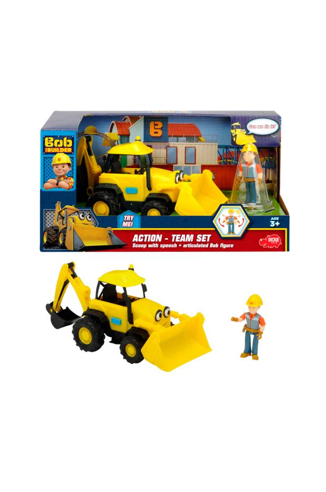 Bob The Builder Kaivuri Action set
