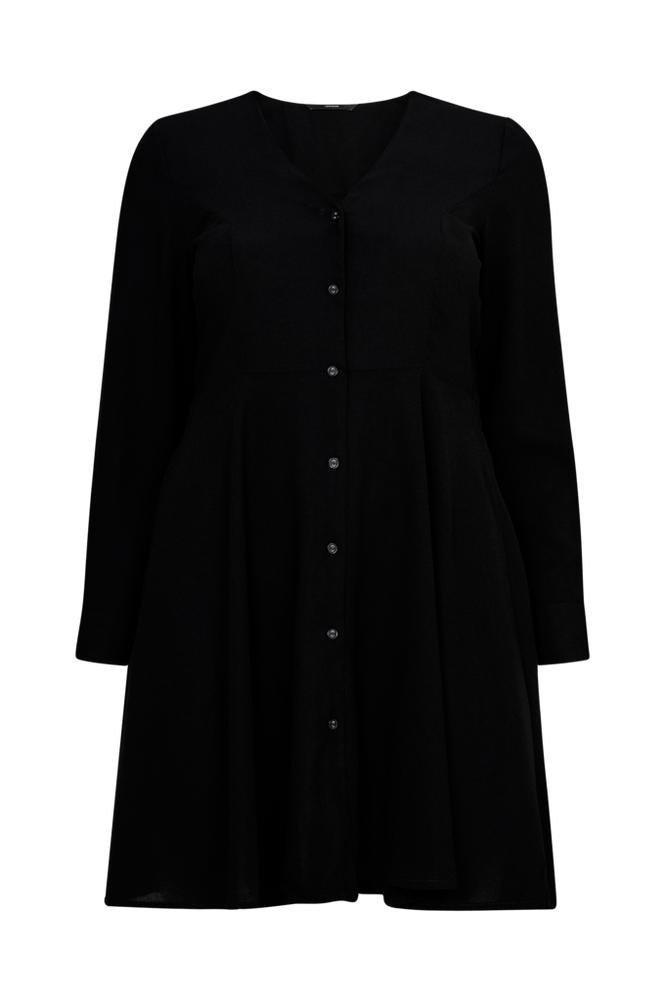 Vero Moda Curve VmMille L/S Short Shirt Dress mekko