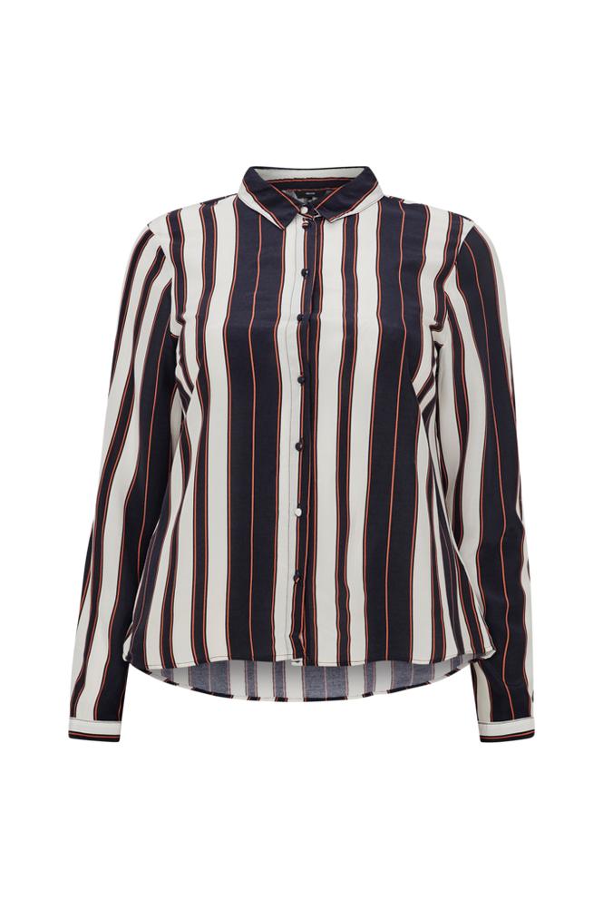 Vero Moda Curve VmStripy LS Shirt Curve paitapusero