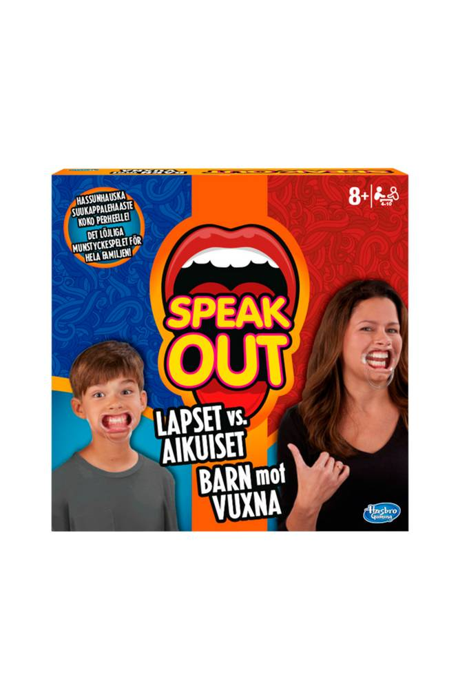Hasbro Speak Out Kid Vs Parent