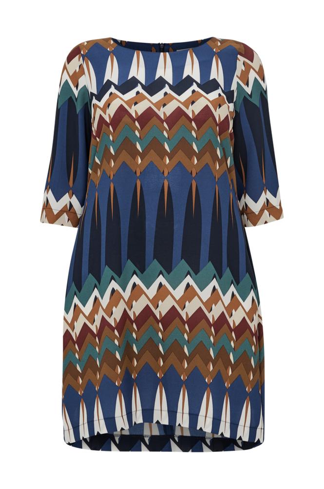 Paprika Ethnic Printed Dress -mekko