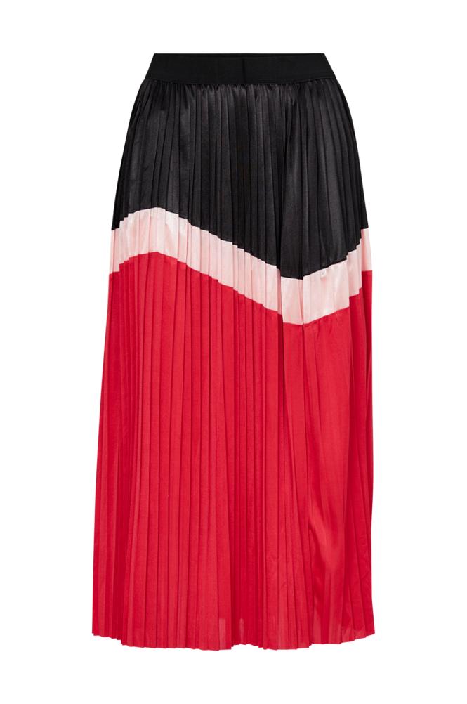 co'couture Camden Plisse Skirt -hame