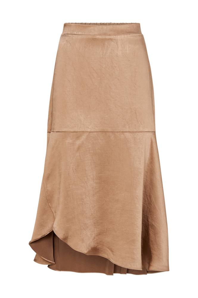 co'couture Mirage Sateen Skirt -hame